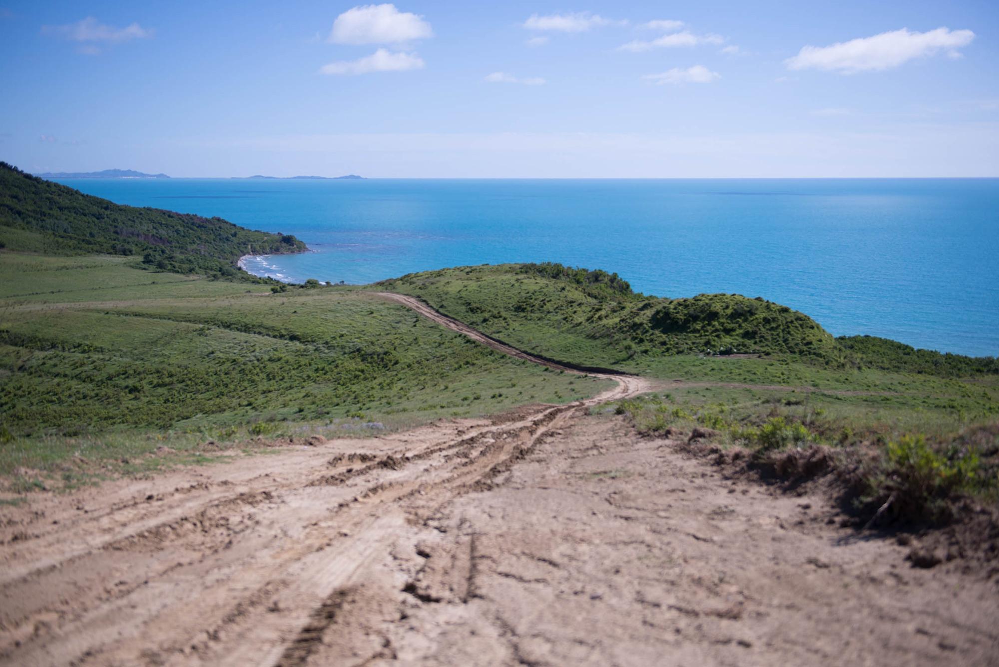 Kepi i Rodonit Dirt Road